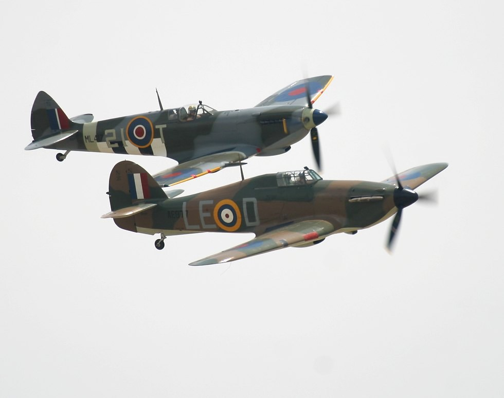 Spitfire Hurricane Comparison Hurricane or Spitfire