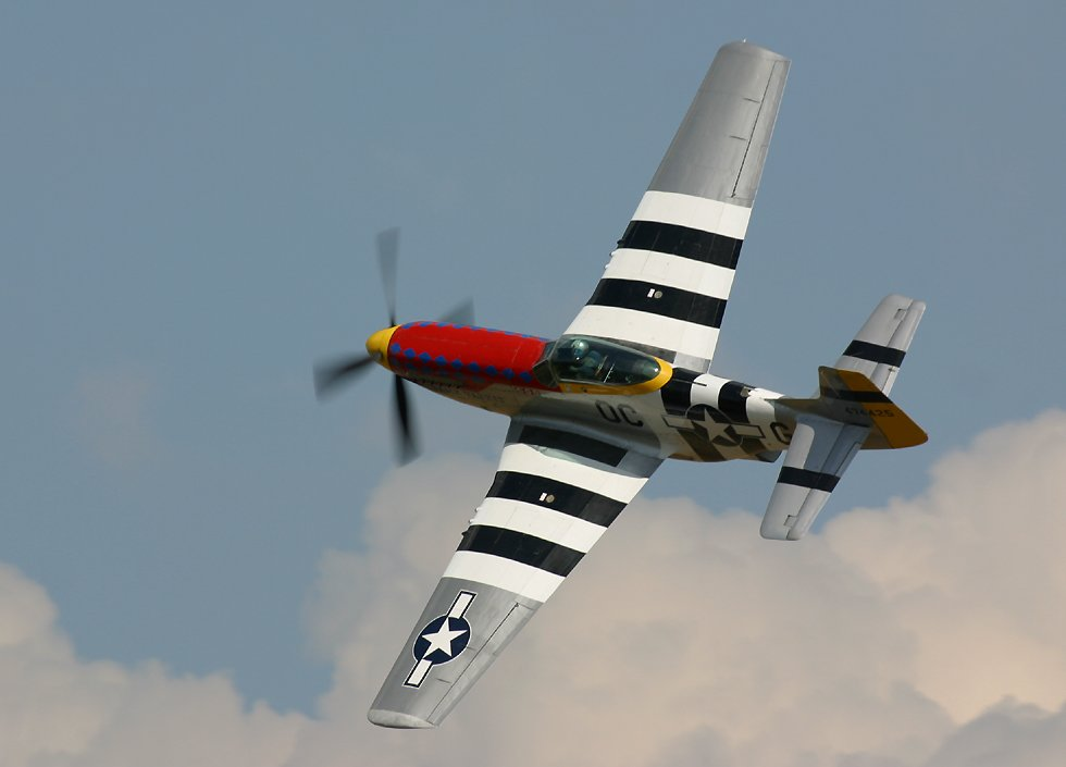 P 51 Mustangs At The Duxford Quot Flying Legends Quot Airshow