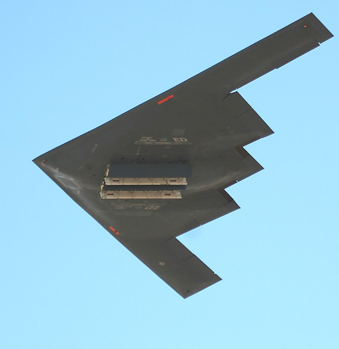 B 2 Spirit Stealth Bomber At The Edwards Air Force Base