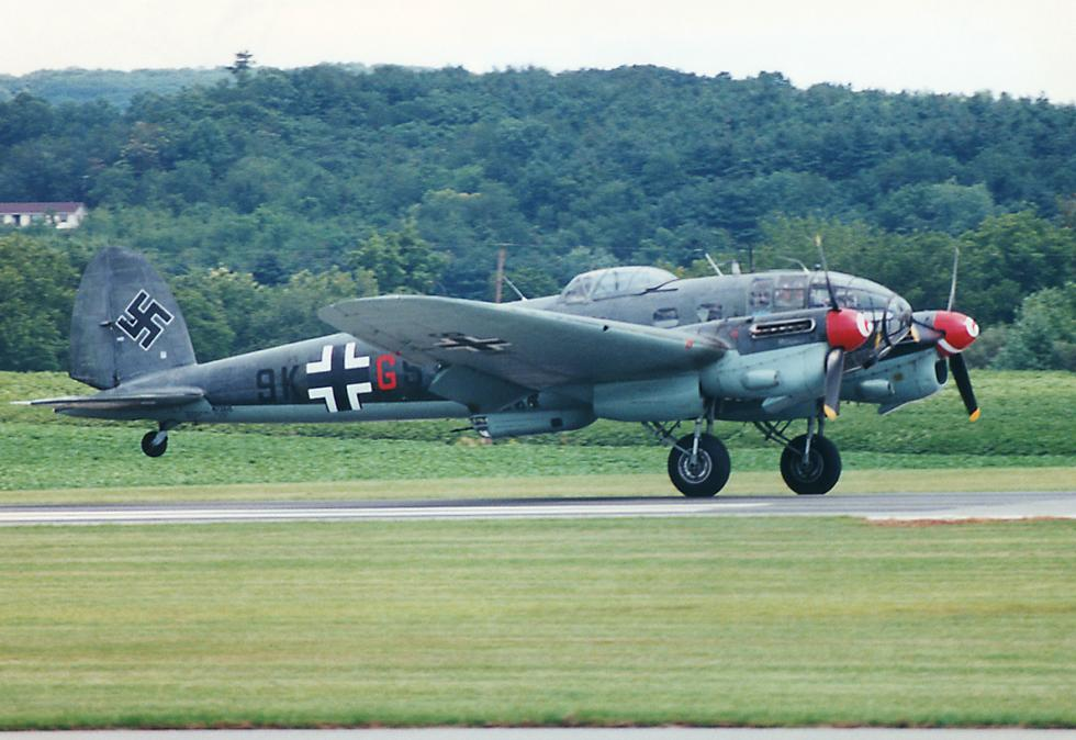 Heinkel He 111 Bomber versions  varying by the