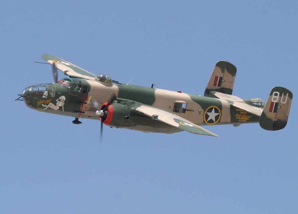 they also brought two other world war two aircraft, one of which was