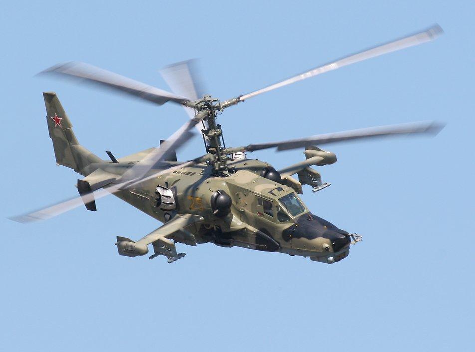 """空军世界 :: 卡-50/Ka-50""""黑鲨""""武装直升机"""
