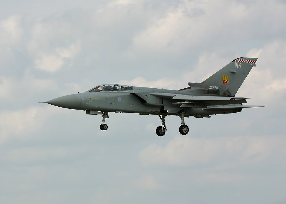 RAF Tornado at RIAT 2002