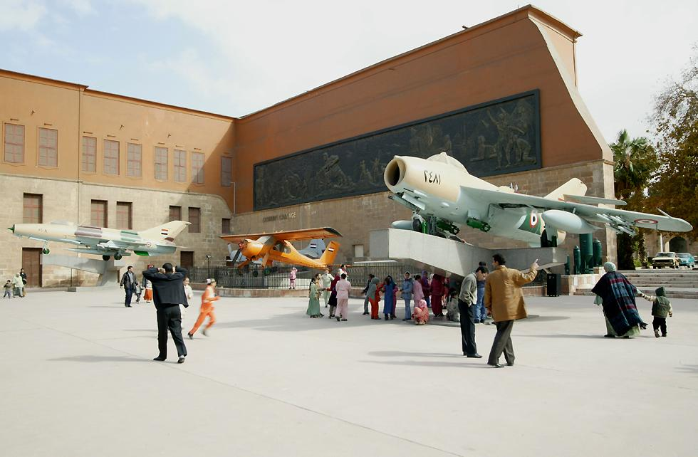 aircraft and military museums