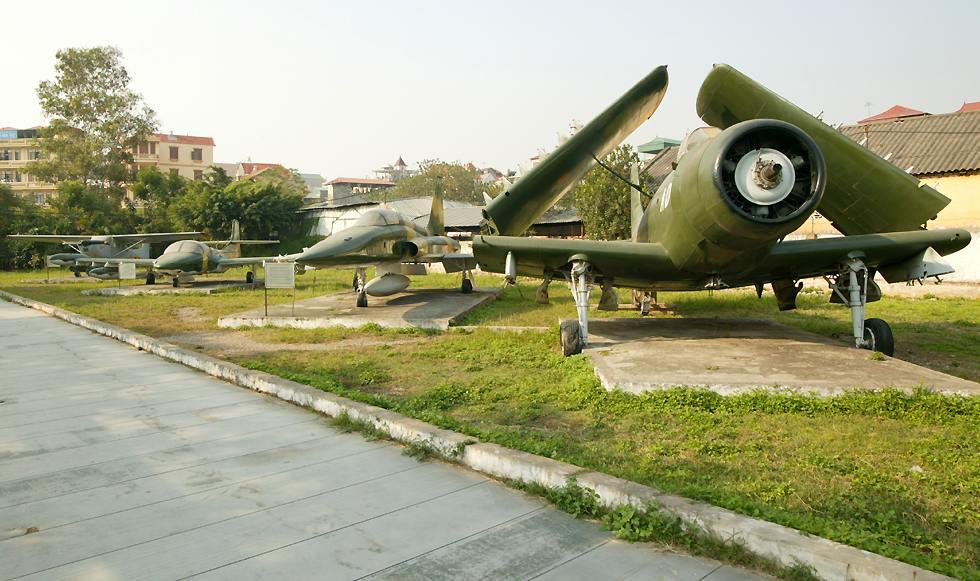 Vietnamese Air Force Museum in Hanoi