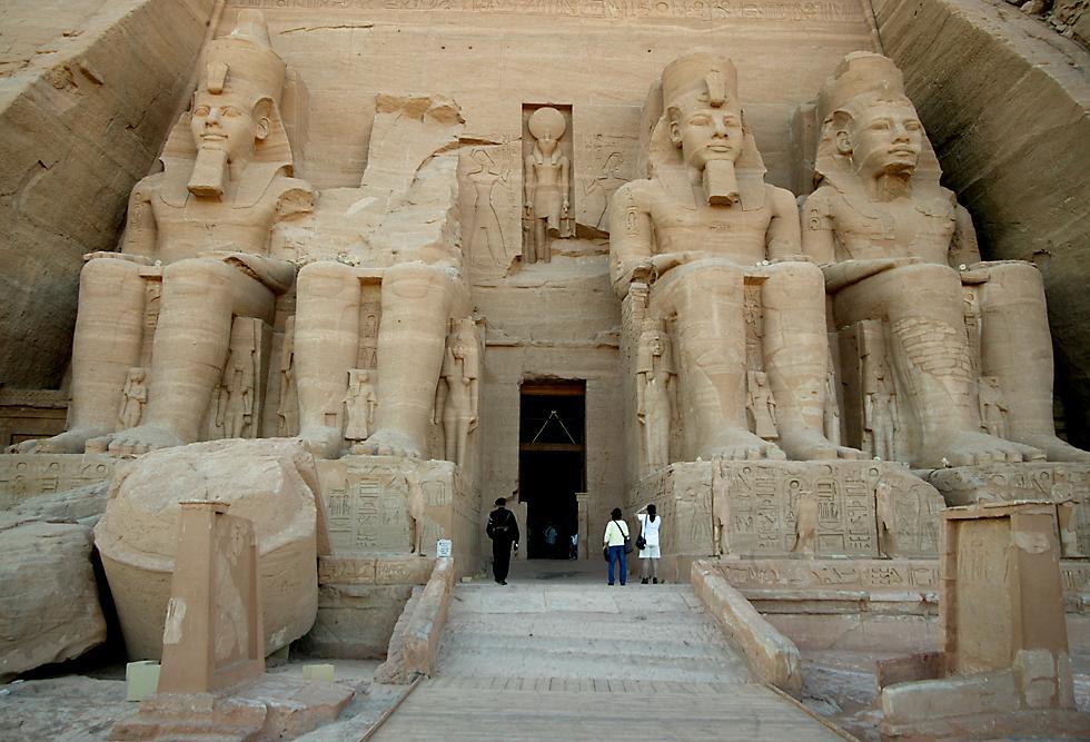Abu Simbel i l'embassament d'Assuàn