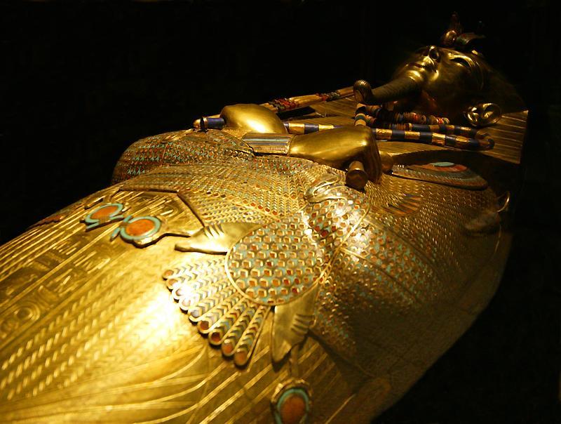 Tutankhamun's Death Ma... Funerary Mask Of Tutankhamun