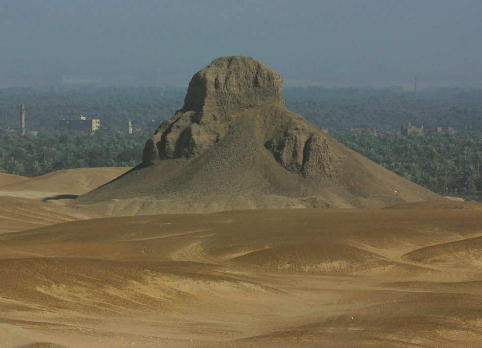 the Black Pyramid at Dahshur