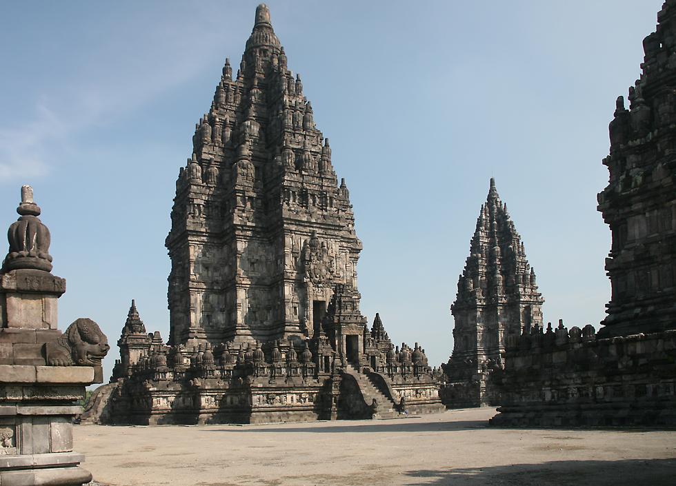L'ensemble de Prambanan, Kalasan, Yogyakarta, Indonesie PrambananTemples