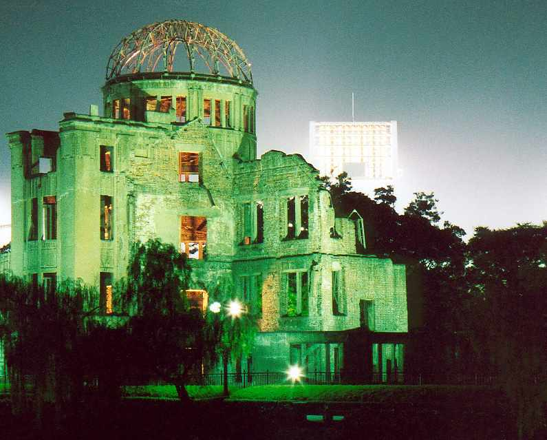 http://www.richard-seaman.com/Travel/Japan/Hiroshima/AtomicDome/AtomicDomeAtNightFromPeacePark.jpg