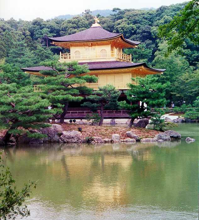 Kinkaku-ji, the Golden Pavilion  kawazu
