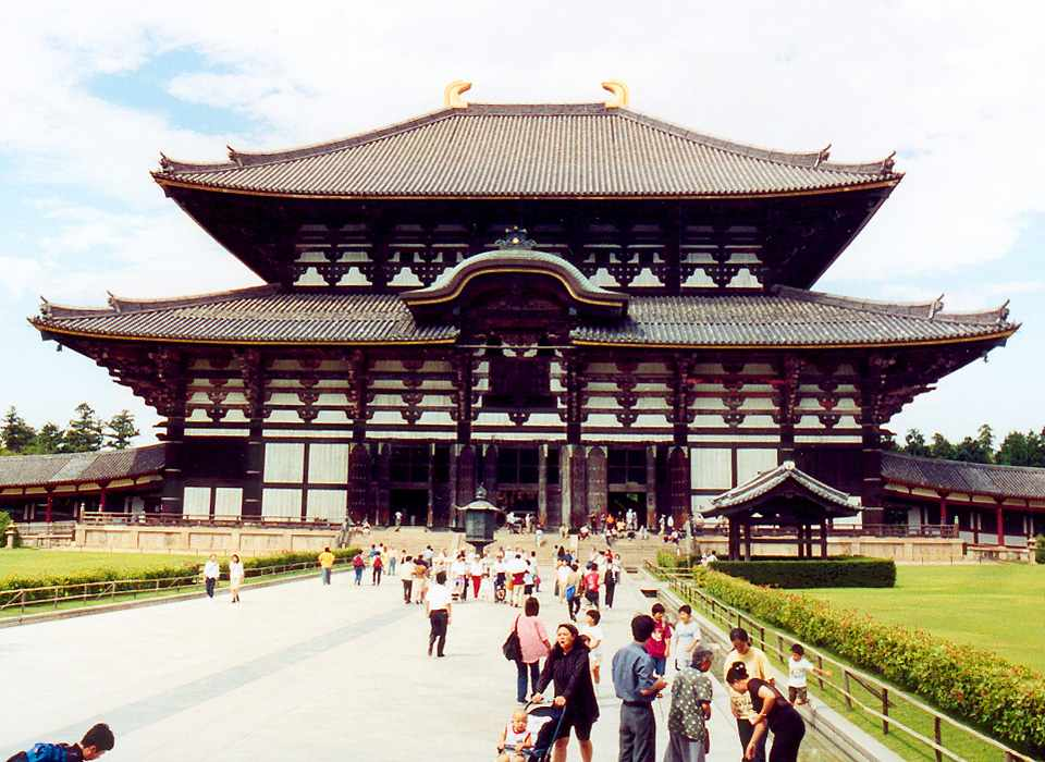 Hall of the Great Buddha from front on
