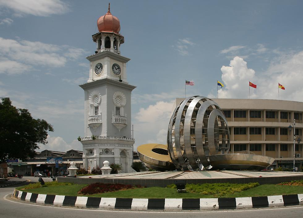 Penang Island Wallpaper Penang Clock Tower