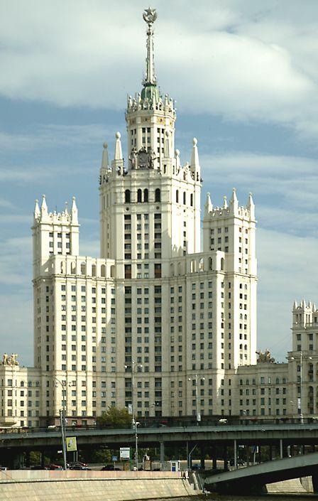 """酒店Ukrainia,斯大林的""""七姐妹""""之一"""