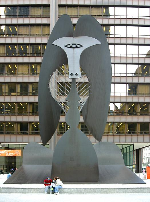 'The Picasso' sculpture