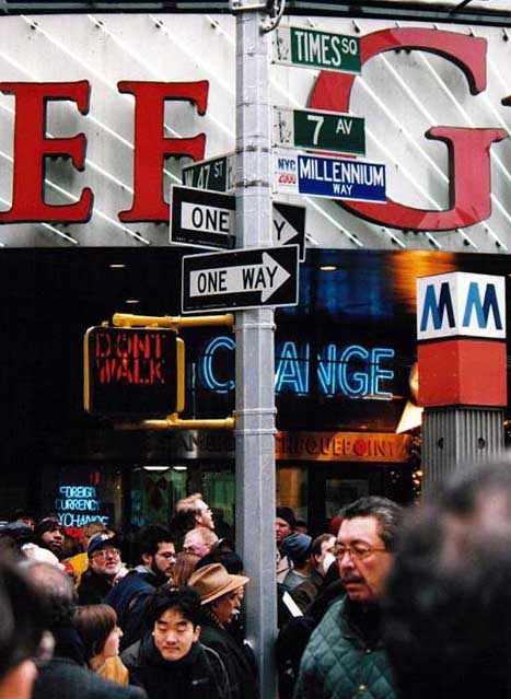 new york times square wallpaper. Times Square millenium street
