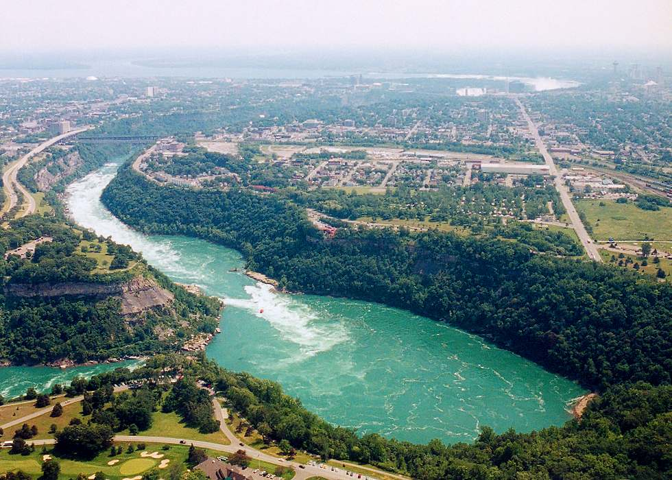 Niagara Falls From The Air