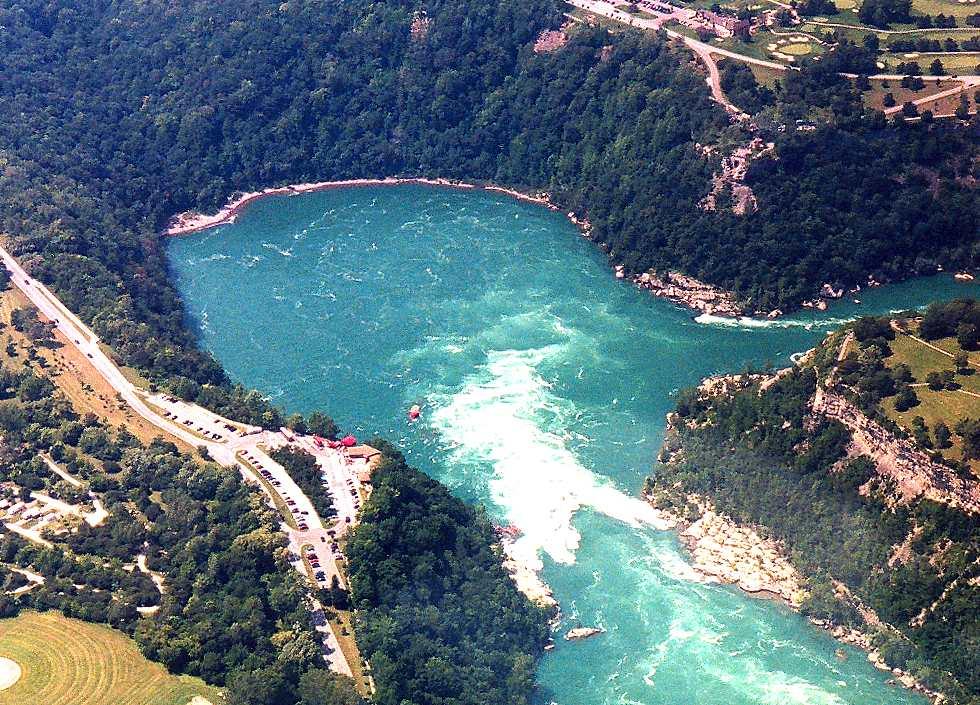 Niagara Falls From The Air