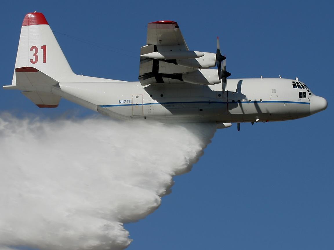 Avion Hercules c-130 del mundo