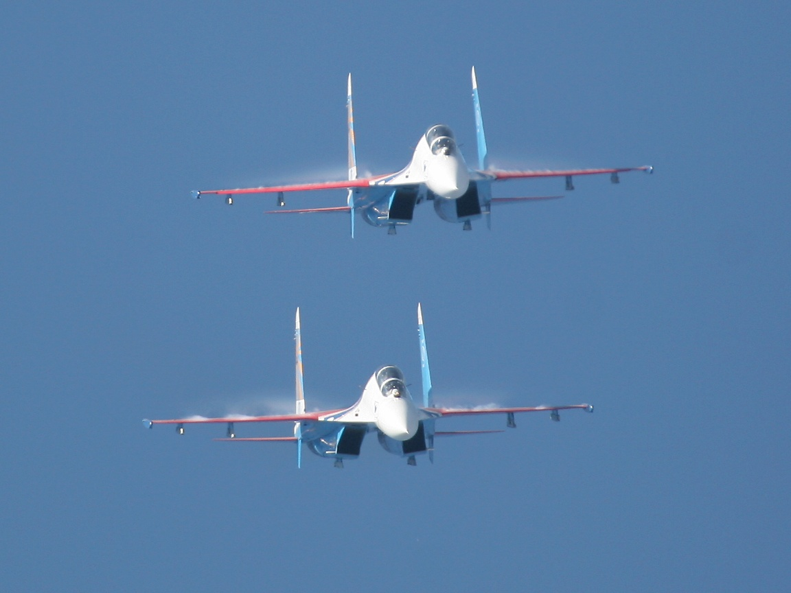 Red Arrows Russian Air Force