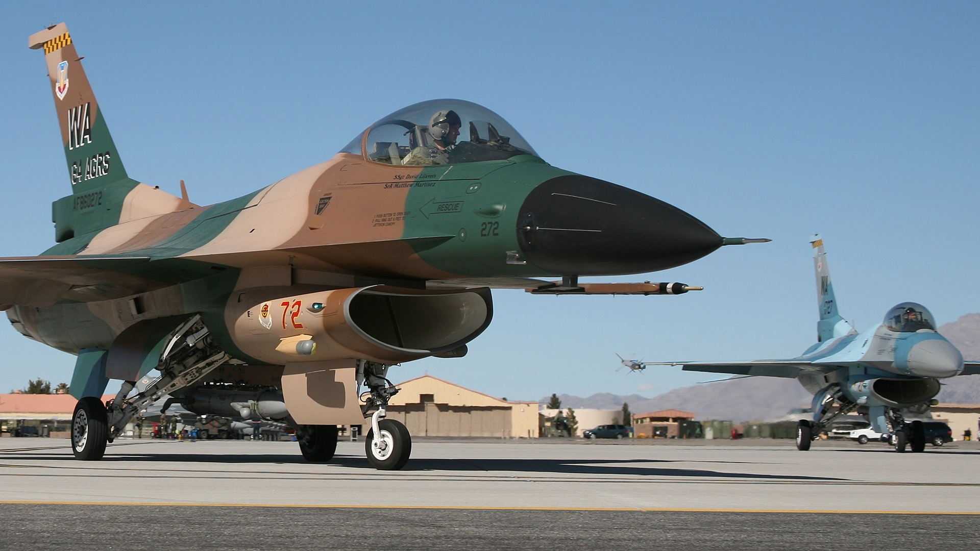 American Jet Fighter Wallpaper