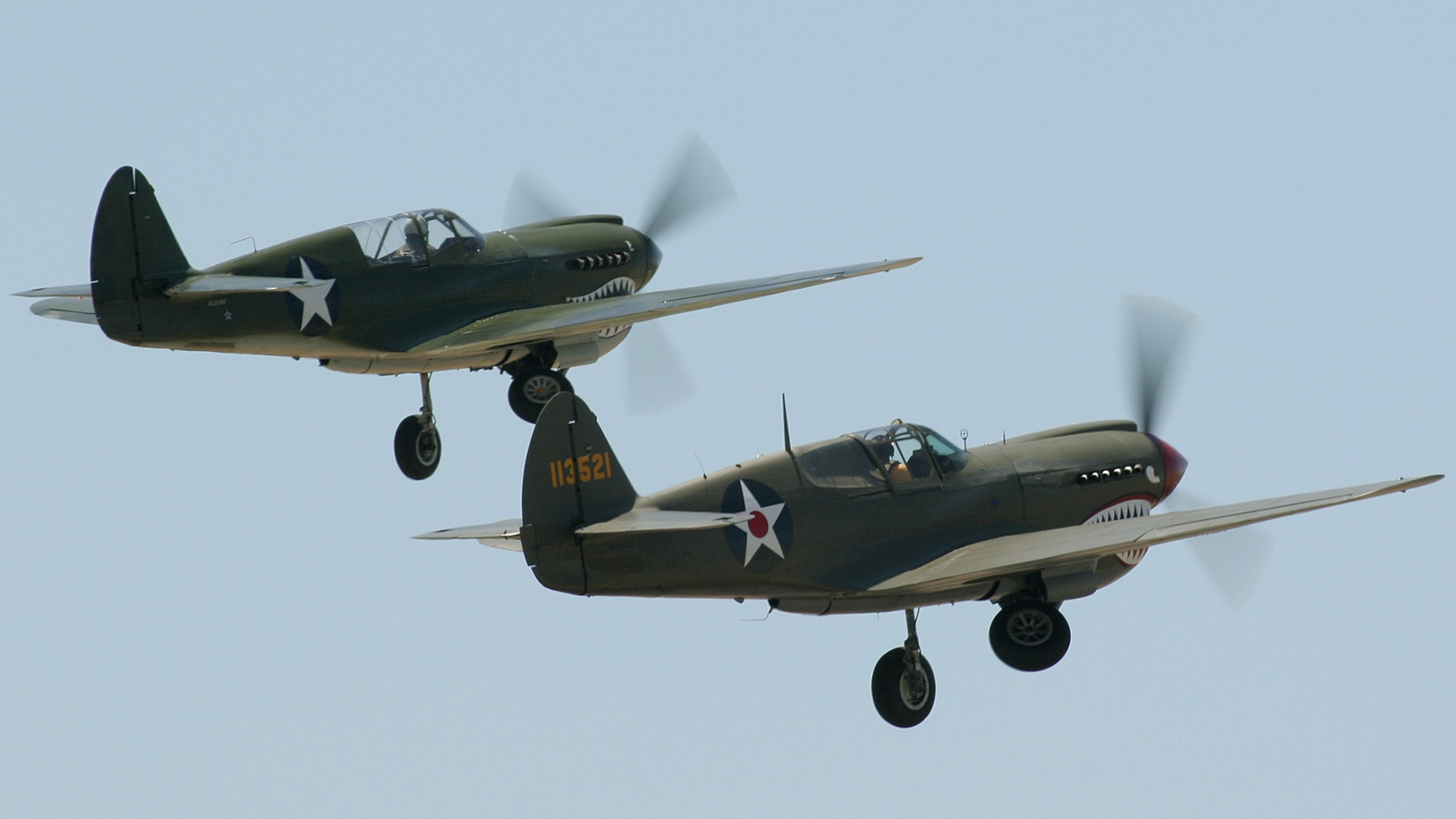 P 40E And 40N Warhawk