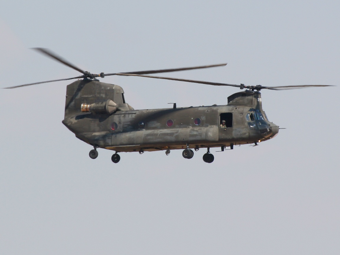 Chinook Helicopter Wal...