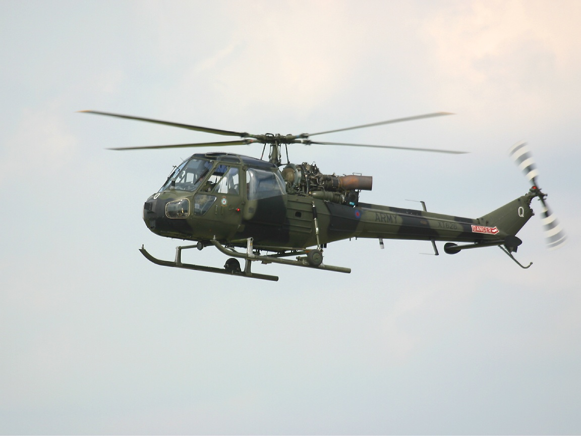 "Rest of the World"" Military Helicopter Wallpaper"
