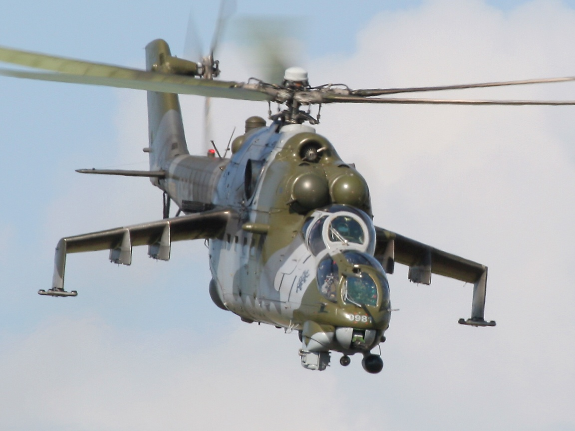 russian military helicopter wallpaper