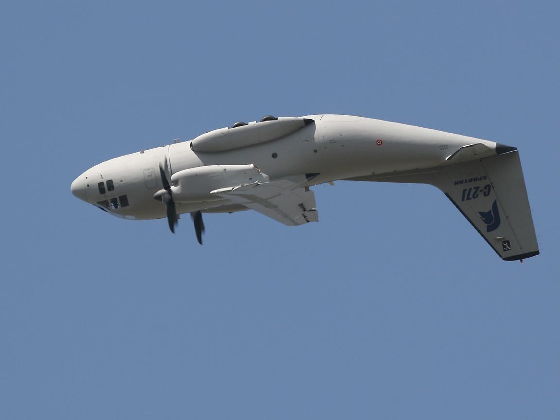 Alenia C-27J Spartan Fuerza Aérea Mexicana - Página 28 C27AtTopOfLoop
