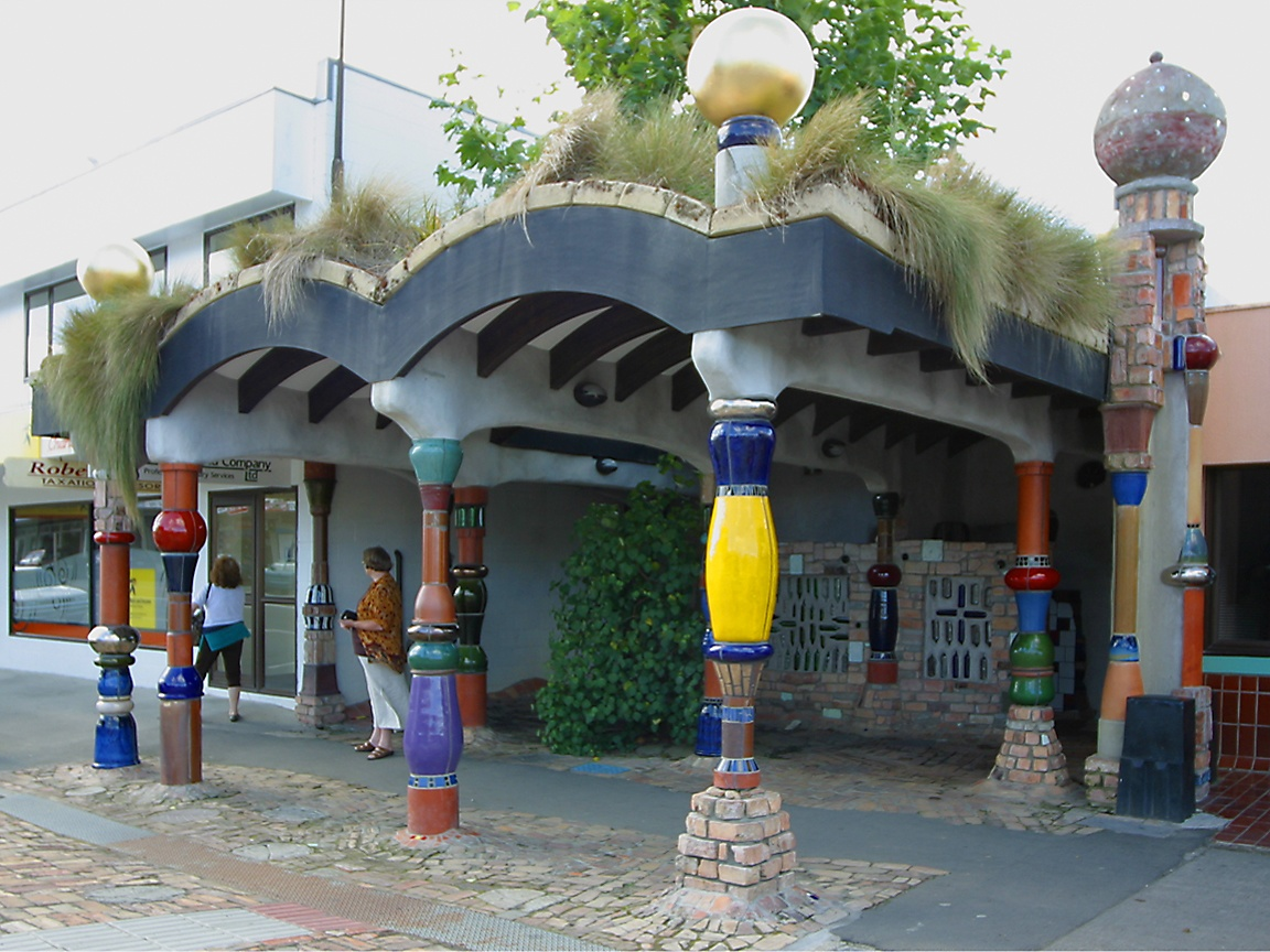 and the Hundertwasser Haus