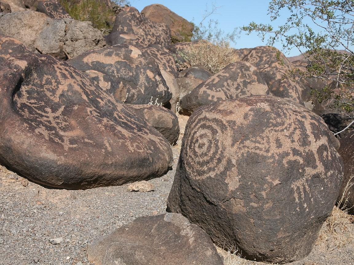 Painted Rocks Arizona